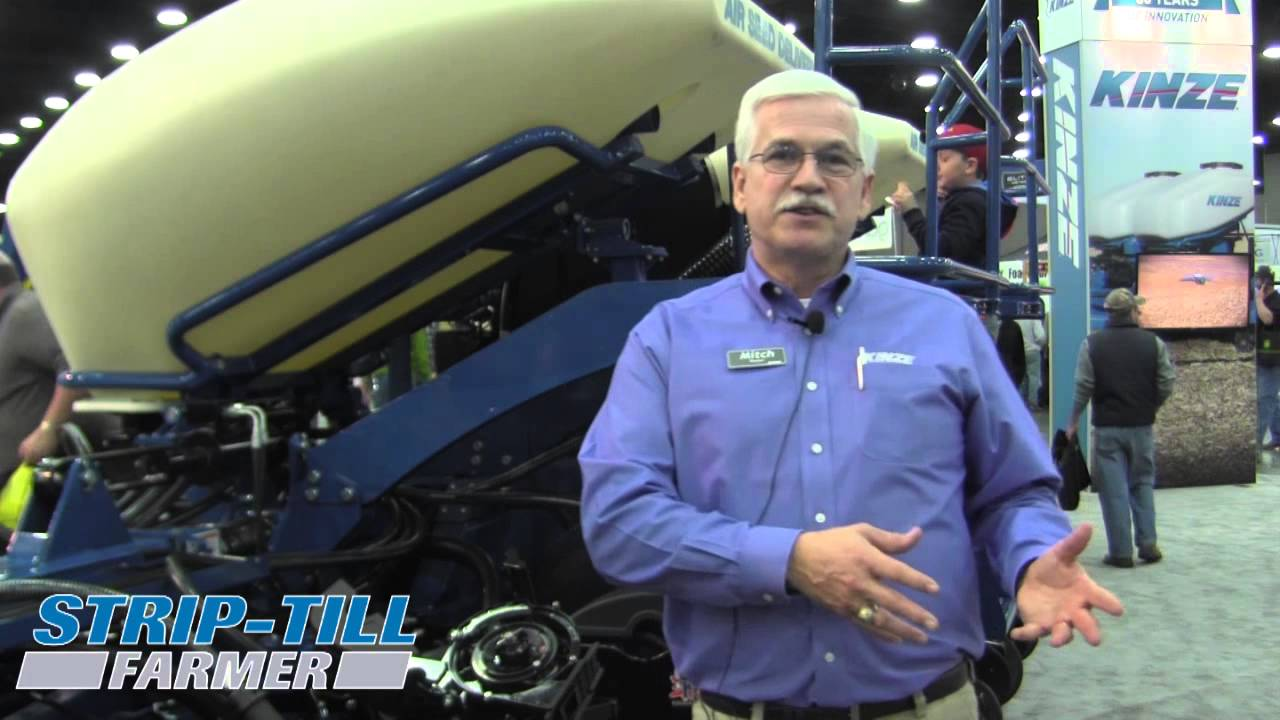Kinze Introduces Electric Drive 3660 Split Row Planter Youtube