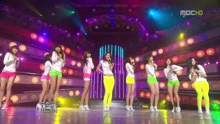 SNSD Gee live MBC Music Core 090117   17th January, 2009