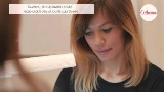 Промо видеоурок по использованию технологии SHNEL LAK для бренда CATHERINE