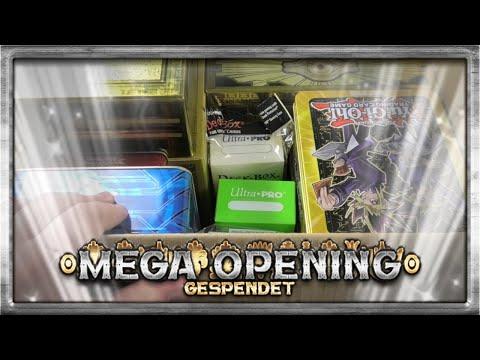 Patricks 11KG Spende | Yu-Gi-Oh Megaopening | House Of Cards |