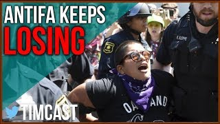Antifa Loses Nearly Every Conflict and Hurts The Democrats