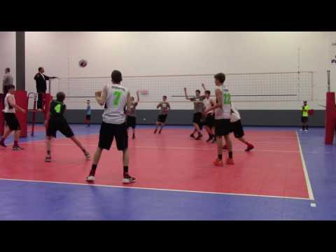 Fox Valley Volleyball Club 15s Vs D1 Volleyball Club Game 1 12-11-16