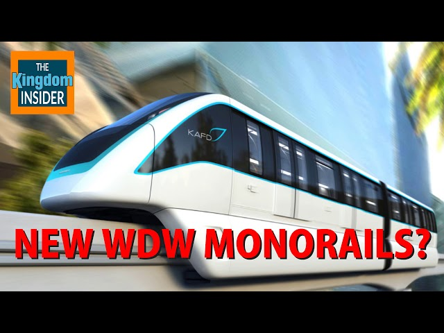 New Monorails Coming to Walt Disney World?