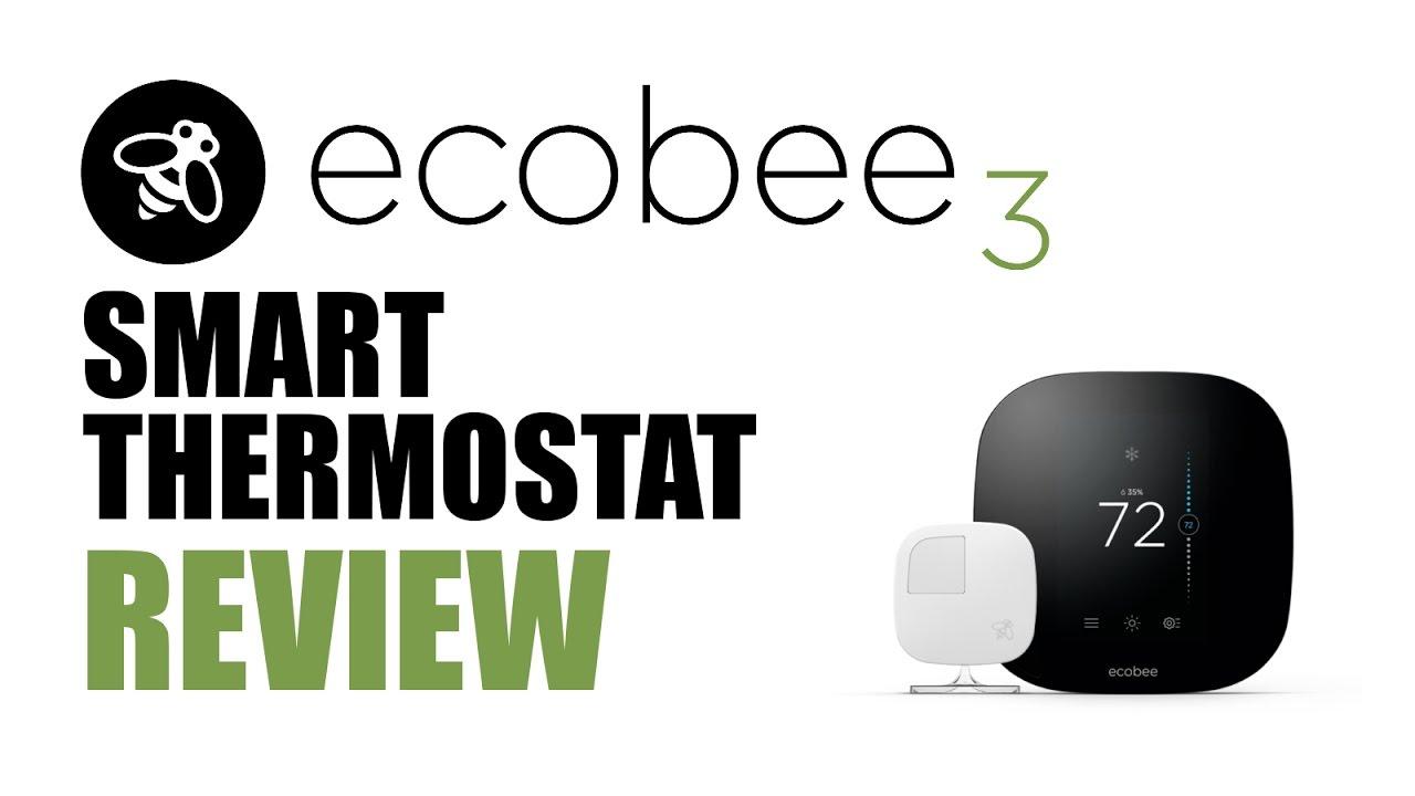Ecobee3 Smart Thermostat Review  Homekit  U0026 Alexa Enabled