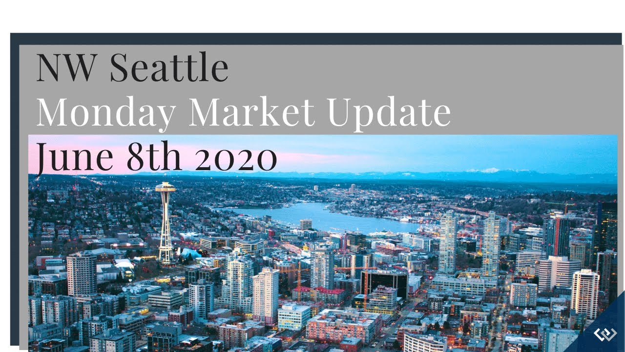 Monday NW Seattle Real Estate Market Update 📅June 8th, 2020