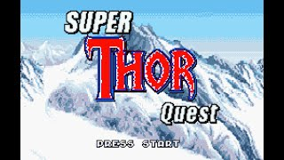 Super Thor Quest (SNES) - Gameplay