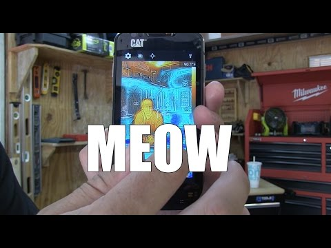 Cat S60 Rugged Android Smart Phone with FLIR Built In  - Torture Test