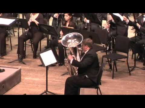 Gregson Tuba Concerto, movement 1