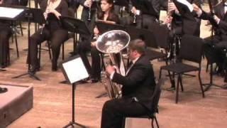 Gregson Tuba Concerto, movement 1