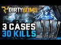 "Dirty Bomb | 3 Cases 30 Kills ""Case Opening Challenge"" #2"