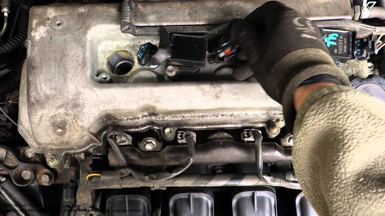 How to replace ignition coil Toyota Corolla VVT i engine