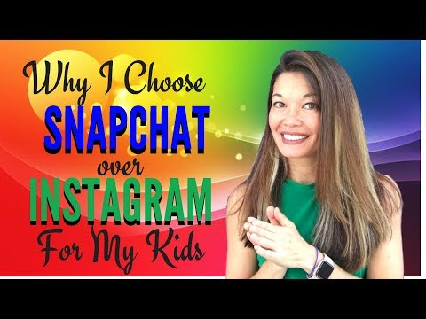 Why I Picked Snapchat Over Instagram For My Kids