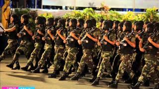 Ejercito de Nicaragua Desfile 35 aniversario (2014)
