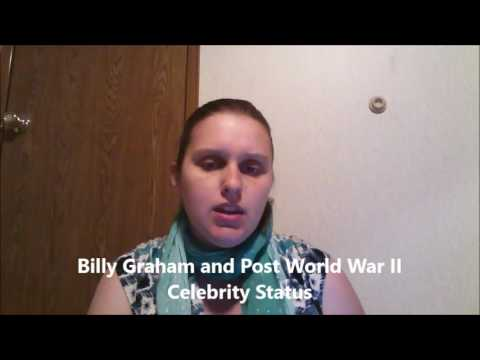 FinalProject: Billy Graham an American Cultural Icon
