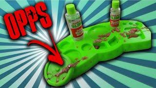 Nickelodeon Slime Kit EPIC Fail!  Make your own slime.
