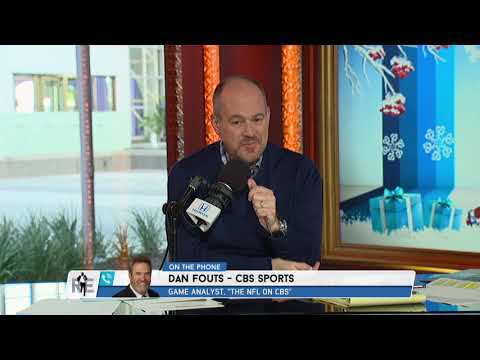 CBS NFL Analyst Dan Fouts  Won't Says Los Angeles Chargers - 12/21/17