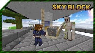 Запуск фермы железа  SkyBlock 12