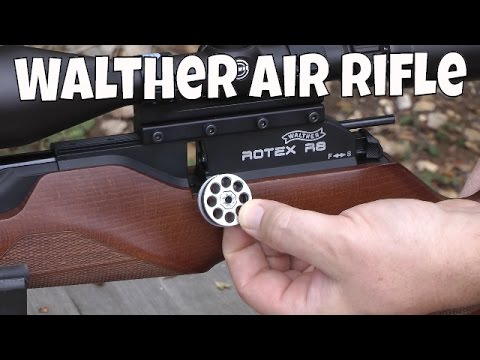 REVIEW: Walther Rotex Rotek RM8 R8 -  8 Shot Air Rifle - Review