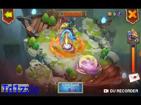 Castle Clash: Zephyrica: Magic Powder Rolls