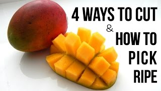 4 BEST WAYS TO CUT MANGO FAST