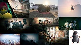 GTA Online: NEW CLIP ON GTA 5 ONLINE   MATVEY12