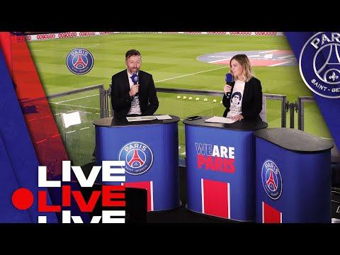⚽️ Avant match Paris Saint-Germain  - RC Strasbourg en direct du Parc des Princes 🔴🔵