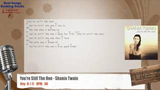 You're Still The One - Shania Twain Vocal Backing Track with chords and lyrics