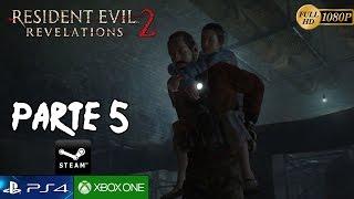 Resident Evil Revelations 2 Parte 5 Español Gameplay - Episodio 3 El Juicio PC/PS4/XboxOne