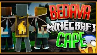 BEDAVA OPTİFİNE CAPE VE SKİN !! (EFSANE MOD) - Minecraft