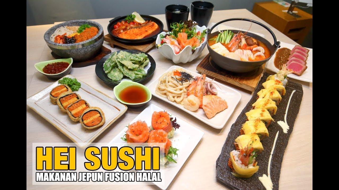 Makanan Jepun Fusion Hei Sushi Youtube