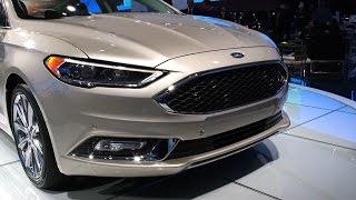 Detroit 2016: Ford Fusion 2017