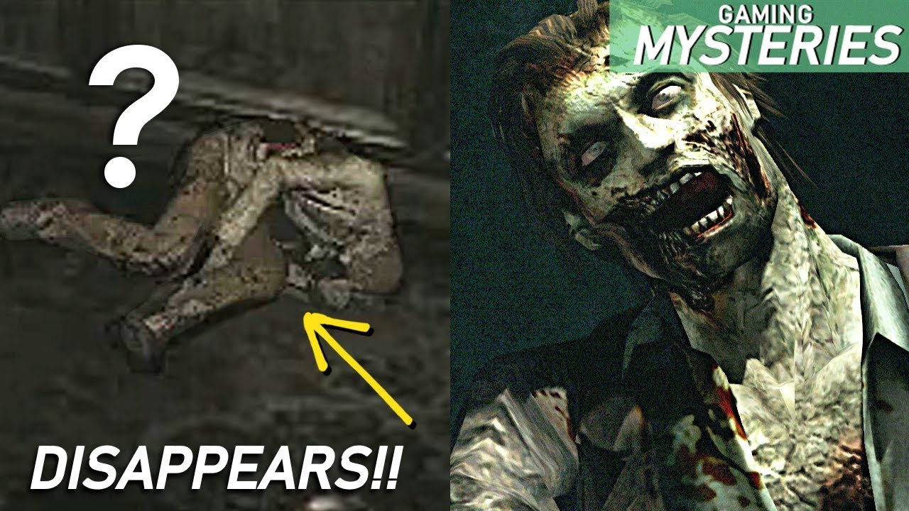 Resident Evil The Disappearing Corpse In The Mansion Gaming Mysteries