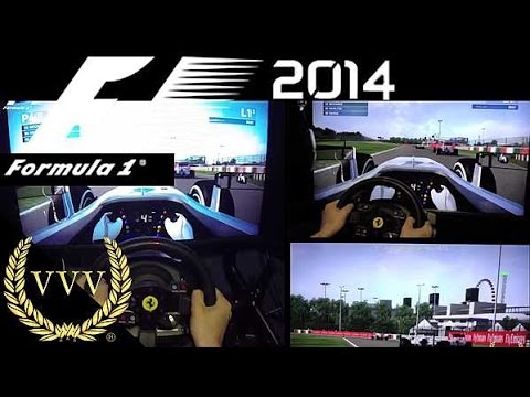 F1 2014 Preview part 1 Suzuka Gameplay