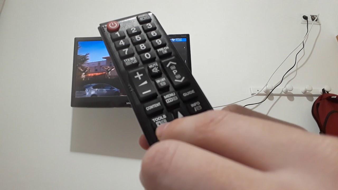 Tutorial Como Ordenar Los Canales En Una Televisión Samsung Youtube