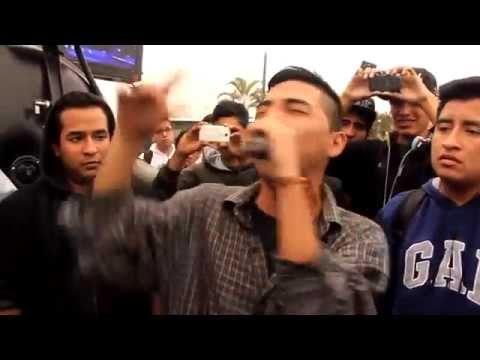 Sony (Argentina) vs Nekross (Perú) - Batalla de gallos Redbull 2015 (COMPLETO)