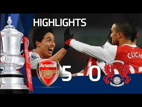Arsenal 5-0 Leyton Orient | The FA Cup 5th Round