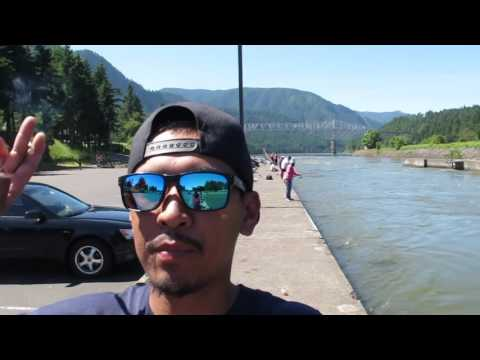 Cascade Locks Fishing Vlog