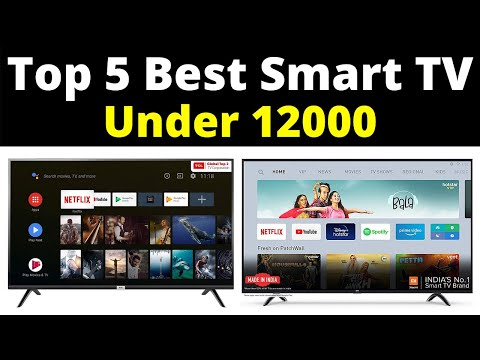 Top 5 Best Smart LED TV Under Rs 12000 In India   BEST SMART TV UNDER RS 12,000 IN INDIA