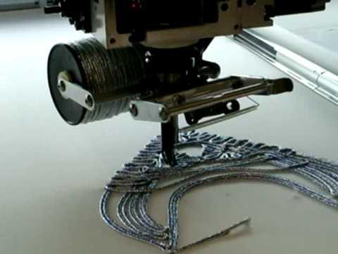 07 Barudan вышивка шнуром