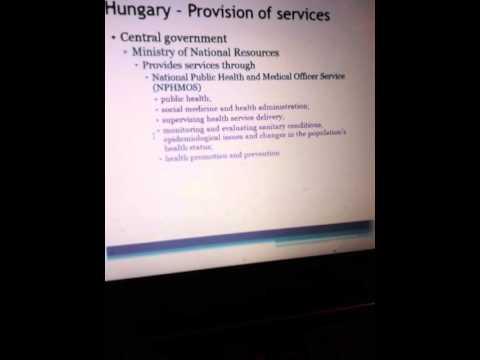 Bpop Topic 1 republic of hungary organisation Health video 3