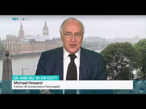 Interview with former UK Conservative Party leader Michael Howard on UK referendum