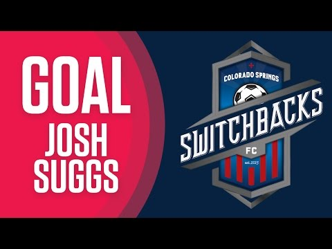 GOAL - Josh Suggs, Colorado Springs Switchbacks FC