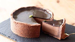 チョコレートプリンタルトの作り方 Chocolate Pudding Tart|HidaMari Cooking