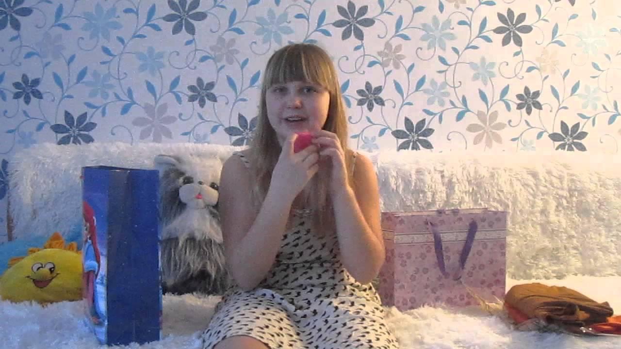 Видео мои подарки на новый год и покупки