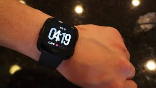 Fitbit Versa Unboxing, Setup, Overview (Quick)
