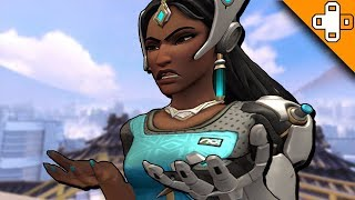 SYMMETRA'S CRAZY DANCE! - Overwatch Funny & Epic Moments 324