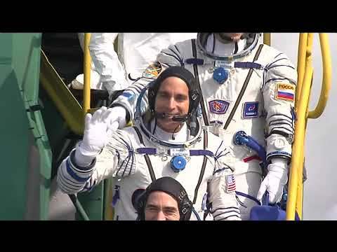 Expedition 63 Crew Launches to the International Space Station