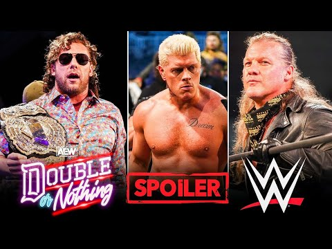 AEW Double or Nothing 2021 Spoilers 🙄   Cody Turning Heel   Jericho invited Former WWE superstar