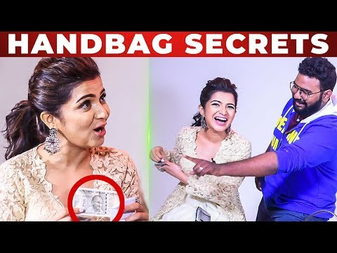 UNLIMITED FUN: DD Roasts VJ Ashiq | Dhivyadharshini Handbag Secrets Revealed!