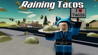 "Raining Tacos ROBLOX (""♫ video musicale con testi ♫"")"